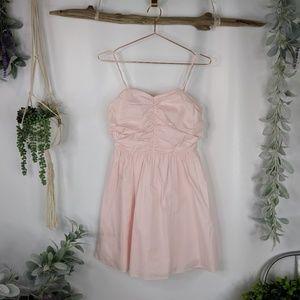 SUGARLIPS pink cotton sundress spaghetti strap